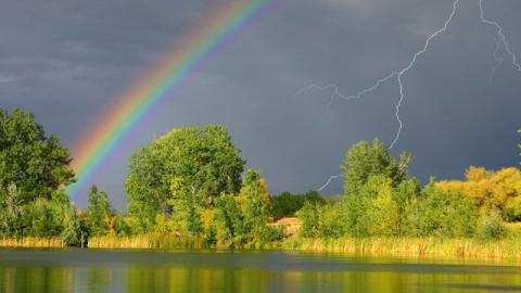 Сегодня по области возможны дожди, грозы