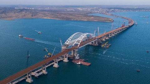 Пьяный саратовец сообщил о минировании Крымского моста