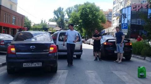 В Саратове блокирована улица Мичурина