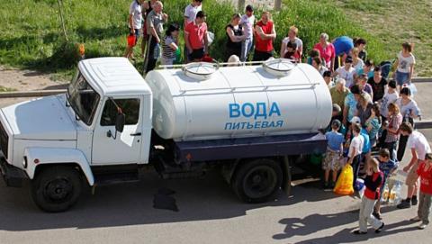 В Пролетарском поселке на целый день отключат воду