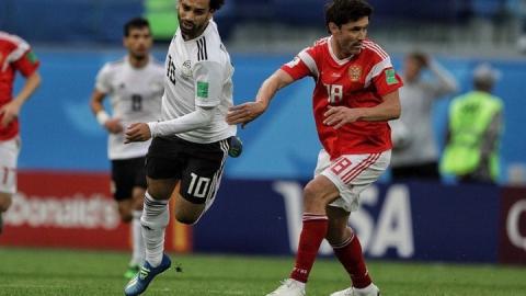 Сборная России вышла из группы, победив Египет