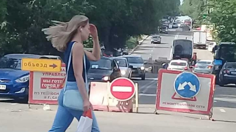 В Саратове перекрыта улица Чапаева