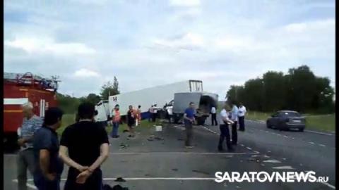 В ДТП под Вольском пострадали пять человек