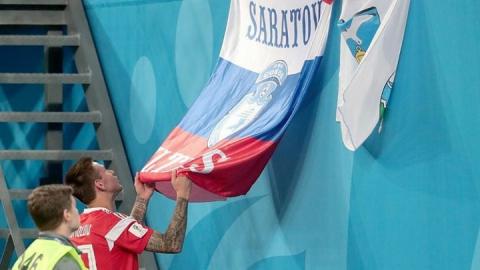 Саратовский футболист поругался с болельщиком