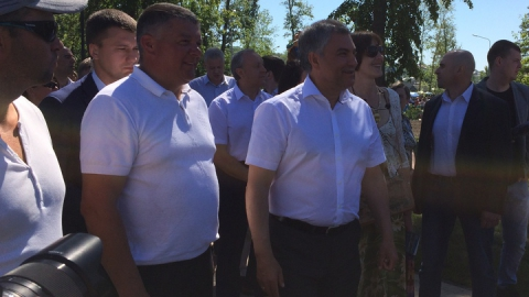 Володин заявил о планах по реконструкции набережной Вольска