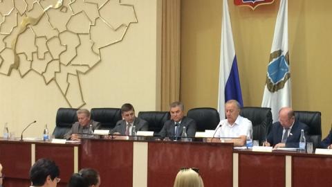 Вячеслав Володин встречается с дольщиками самых сложных долгостроев