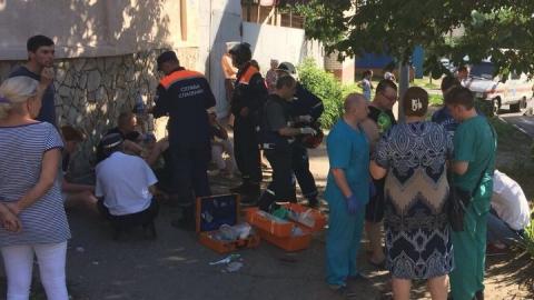 Девять человек пострадали в Саратове при столкновении микроавтобуса