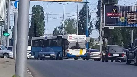 В Ленинском районе произошло тройное ДТП