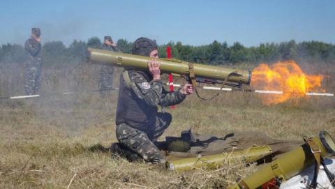 В области начались Всеармейские соревнования аэрозольных и огнеметных подразделений