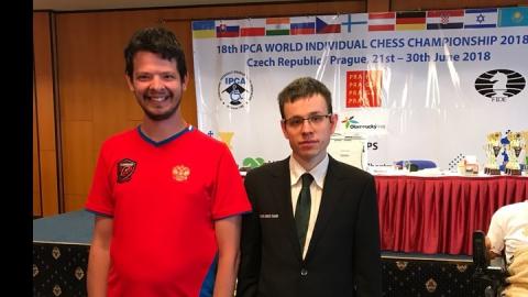 Саратовский шахматист-паралимпиец сыграл вничью с чешским здоровым гроссмейстером