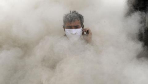 В области прогнозируется накапливание пыли в атмосфере