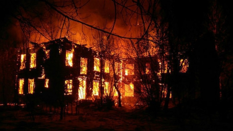 Пожары в Заводском районе. Сообщается еще о двух горящих домах