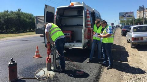 Ремонт дорог в Саратове затягивается из-за аномальной жары