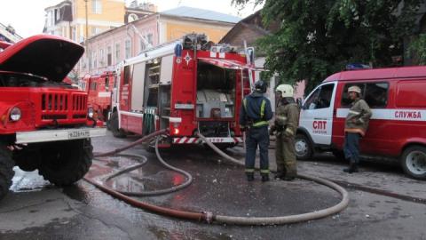 Ущерб от пожаров в Саратовской области вырос на треть