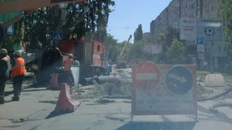 В Саратове перекрыта улица Зарубина