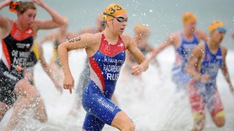 Триатлонистка выиграла первое после рождения сына «серебро» чемпионата России