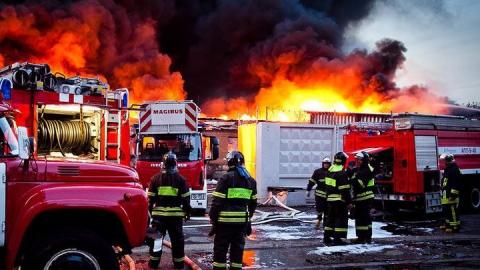 В Ртищеве ночью горел магазин