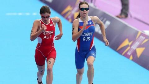 Триатлонистка стала вице-чемпионкой России в смешанной эстафете