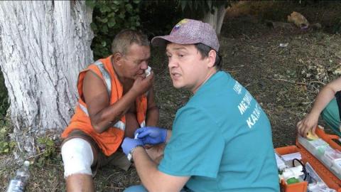 В Вольске бездомный разбился на велосипеде
