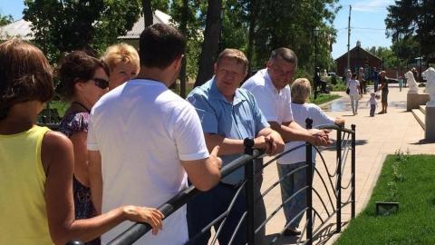 Николай Панков о парке в Вольске: Все проекты Володина делаются для людей