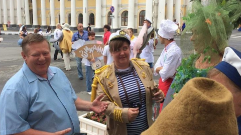 В Вольске проходит третий фестиваль ухи