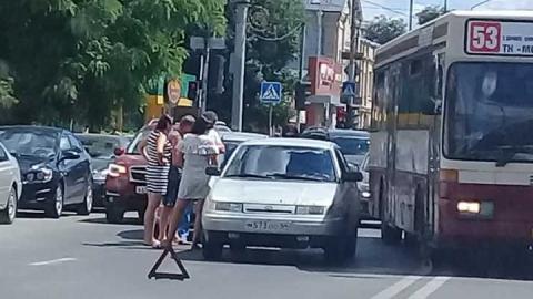 На Кутякова произошло тройное ДТП