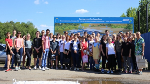 Студенты СГУ ознакомились с работой одного из самых высокотехнологичных мусороперерабатывающих предприятий России