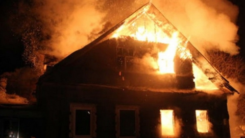 Пожар в Ершове. Погибли три человека