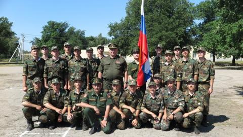 Студенты военной кафедры СГТУ приняли присягу