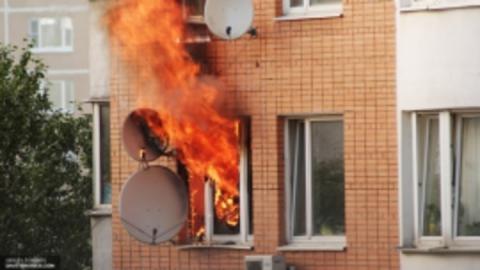 Пожар в Заводском районе. Горела квартира на улице Огородной