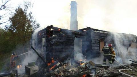 В селе Большая Рельня на пожаре погибла молодая женщина