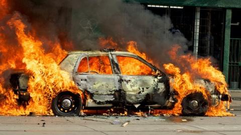 За сутки в области сгорели три машины и два дома