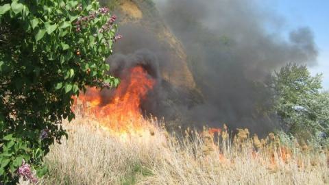 В Саратовской области действует особый противопожарный режим