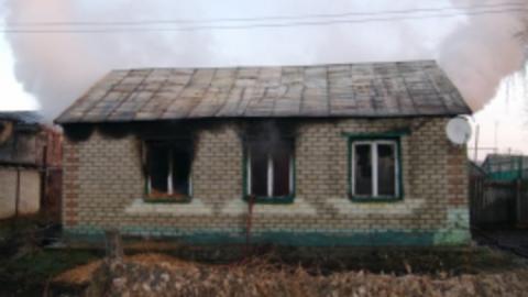Вчера в области горел частный дом и две машины
