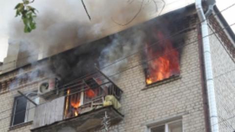 За сутки в области сгорели три квартиры и подвал