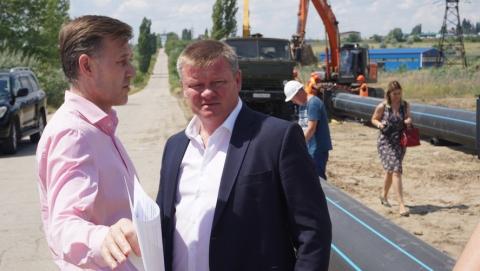 Глава Саратова посетил строящиеся объекты ООО «КВС»