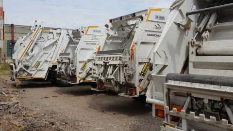 В Саратове началась плановая замена контейнерного парка