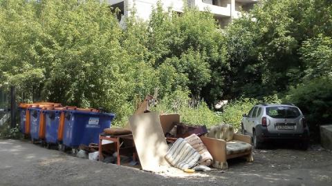 За четыре года количество мусора в Саратове увеличилось на 200 тысяч тонн
