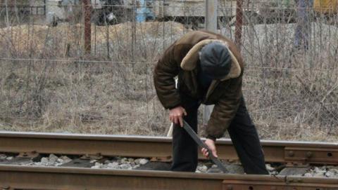 Железнодорожник отправлен в колонию за кражу рельса