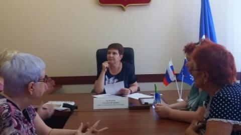 Татьяна Кузнецова провела прием граждан