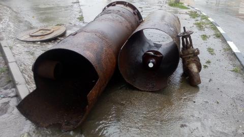 Установка нового оборудования на водопроводных сетях по ул. Исаева