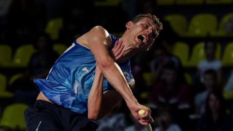 Саратовский бадминтонист выиграл первый матч домашнего Супертура