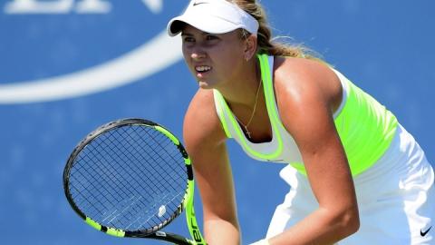 Саратовская теннисистка в Москве стала первой и второй