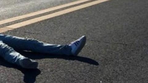 Автолюбитель сбил пешехода и скрылся с места происшествия