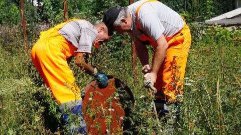 ООО «Концессии водоснабжения – Саратов» провели отключение самовольных врезок в поселке Зональный