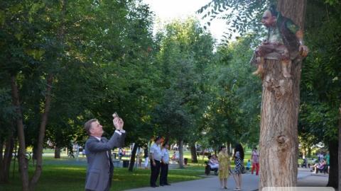 Австралийский посол восхитился энгельсским парком и Волгой