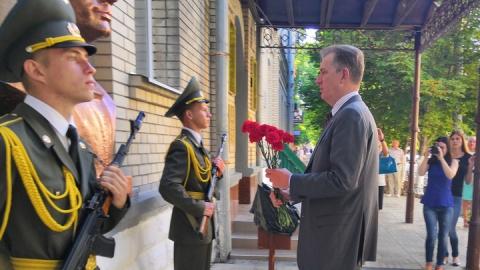 Посол Австралии в РФ посетил Народный музей Ю.А. Гагарина СГТУ