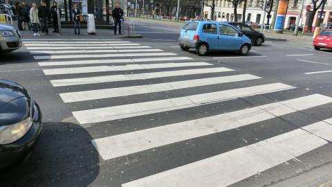 «Мицубиси Лансер» сбил пешехода на «зебре»
