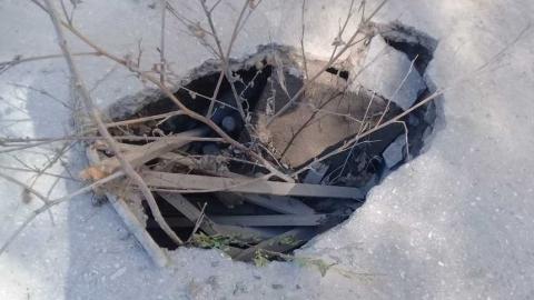 Провал на Посадского: администрация рассматривает возможность проведения ремонтных работ