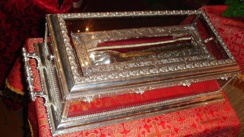 В Саратов будет доставлена десница святителя Спиридона Тримифунтского
